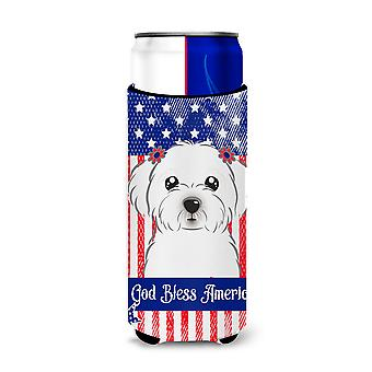 Maltese Michelob Ultra Koozies for slim cans BB2138MUK