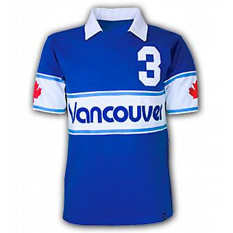 Vancouver Whitecaps 1980 Short Sleeve Retro Shirt 50% cotton / 5