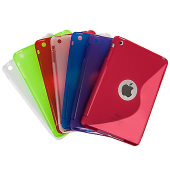 Caseflex Apple iPad Mini 2, 3 SLine Gel Case Green