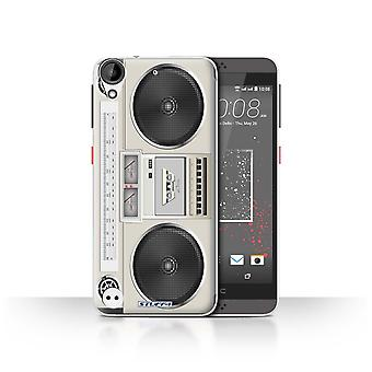 STUFF4 Case/Cover voor HTC Desire 630/Boombox/Retro Tech