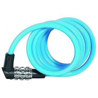 ABUS Spiral Combination Cable Assorted Colors Child Kids 1150/120