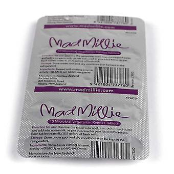 Mad Millie 4 Litre Rennet Tablets (strip of 10)