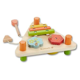 EverEarth Small Triangular Music Center (Toys , Educative And Creative , Music , Infants)