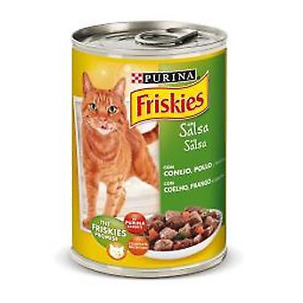 Friskies Adult with rabbit and chicken in sauce (Cats , Cat Food , Wet Food)