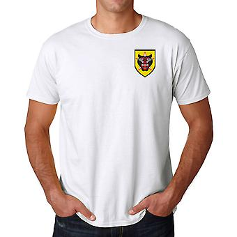 ARVN Vietnamese Rangers Embroidered Logo - Ringspun Cotton T Shirt