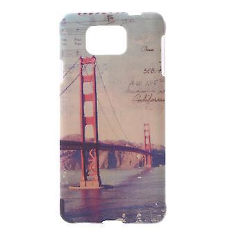 Bridge cover voor de Samsung Galaxy Alpha