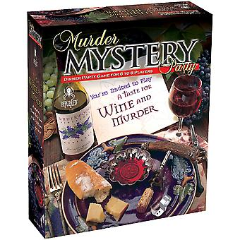 Murder Mystery Party Game-A Taste For Wine & Murder 33202