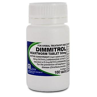 Dimmitrol 50mg Bottle of 100