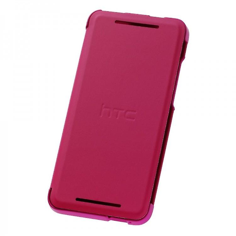 HTC HC V851 flip cover case for HTC ONE mini - pink