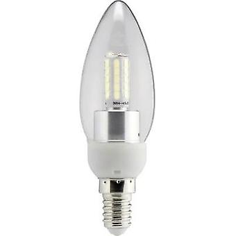 LED Sygonix 230 V E14 4 W = 40 W Warm white EEC: A+ Candle (Ø x L) 35 mm x 112 mm 1 pc(s)