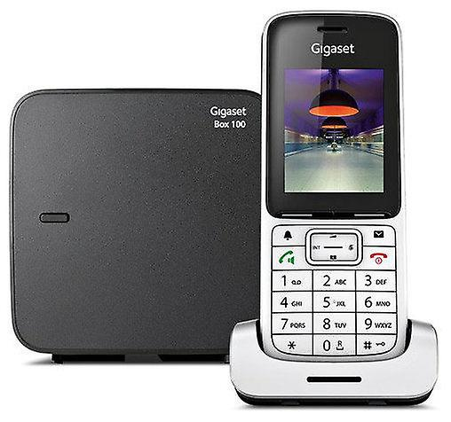 Gigaset Fixed Wireless Dect Phone Black Silver Sl450Hx