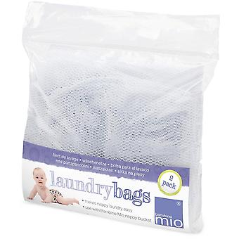 Bambino Nappy Laundry Bags - Two Pack