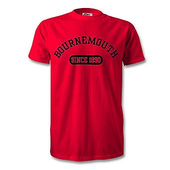 Bournemouth 1890 établi Football Kids T-Shirt