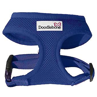 Doodlebone Harness Navy Blue Medium 36-48cm