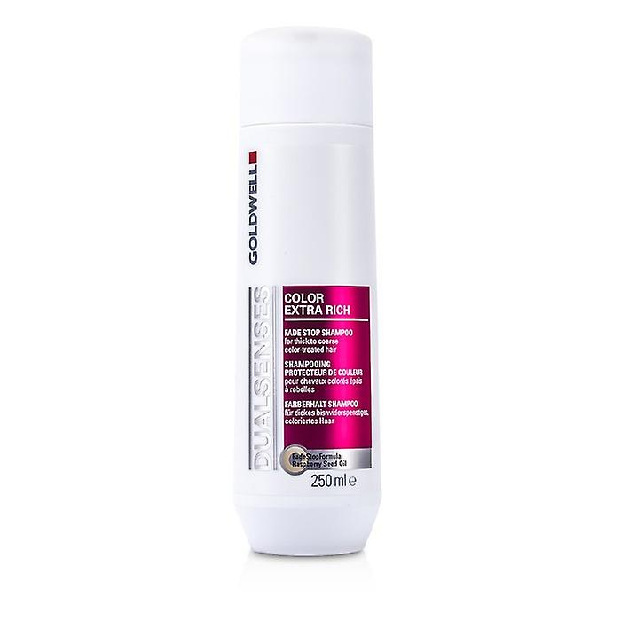 Goldwell Dual Senses Color Extra Rich Fade Stop Shampoo (For Thick to Coarse Color-Treated Hair) 250ml/8.4oz