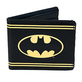 Batman rayas Bi-Fold Wallet