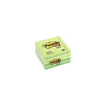 Post-it 2028 G Kubuspad 76 x 76 pastel verde