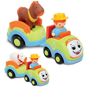Bontoys Farmer For Baby With Animals