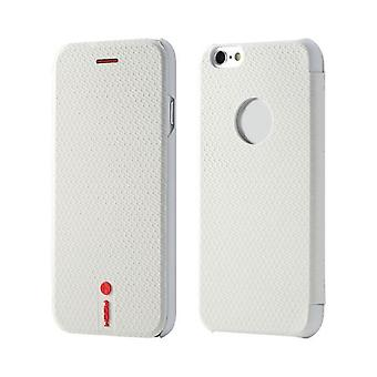 Oprindelige ROCK NFC smart cover hvid for Apple iPhone 6 4,7