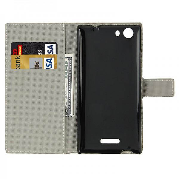 Pocket wallet premium model 43-to WIKO Ridge Fab 4 G