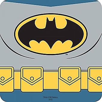 Batman Belt Graphic cork backed drinks mat/coaster  (hb)
