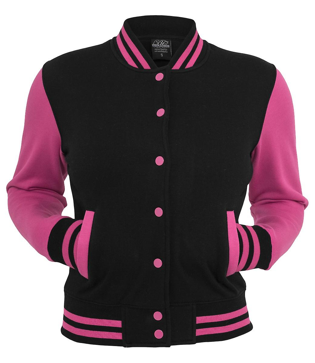 Urban Classics Ladies 2-tone College Sweatjacket