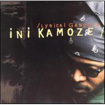 Ini Kamoze - lyriske Gangsta [CD] USA import