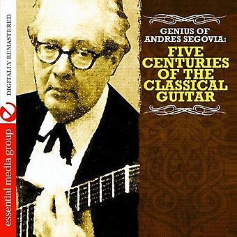 Andrts Segovia - Genius of Andres Segovia [CD] USA import
