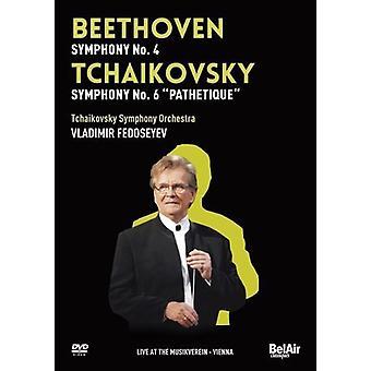 Beethoven/Tchaikovsky - Beethoven & Tchaikovsky Vol. 3 [DVD] USA import