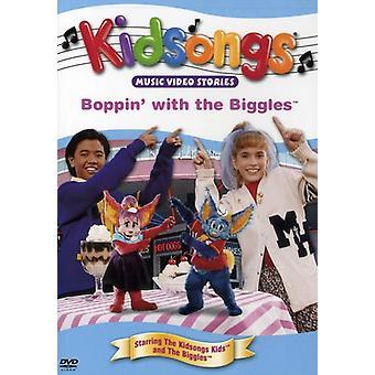 Kidsongs - Boppin' med Biggles [DVD] USA importen