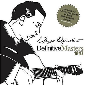 Django Reinhardt - importación de Estados Unidos definitivo maestros 1947 [CD]