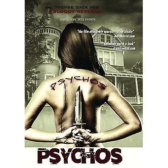 Psychos [DVD] USA importerer