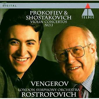 Prokofiev/Sjostakovitj - Prokofiev, Sjostakovitj: Violinkoncerter [CD] USA import