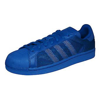 adidas Originals Superstar Triple Mens Trainers / Shoes - Blue