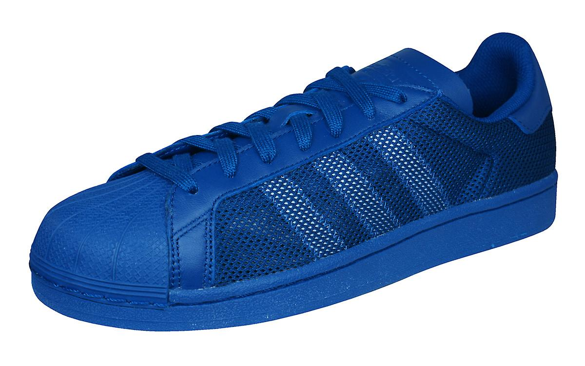 Adidas Originals Superstar Triple Herren Trainer / Schuhe - blau