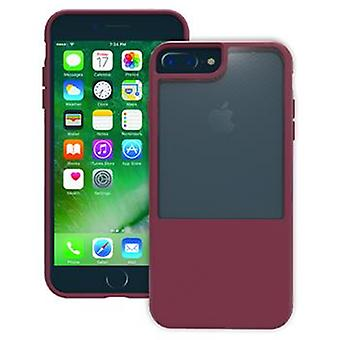 Trident Protective Cover Fusion Plum rot für iPhone 8/ 7 Plus