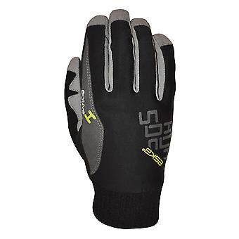 Eska Proglide Langlaufhandschuh schwarz-grau