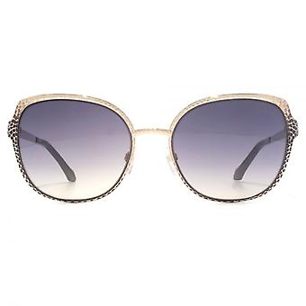 Roberto Cavalli Ukdah Sunglasses In Gold