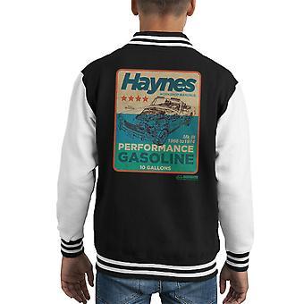 Haynes MG MGB Leistung Benzin Kid Varsity Jacket