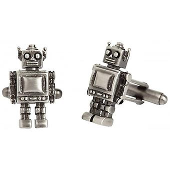 Simon Carter West End Robot manschettknappar - Silver
