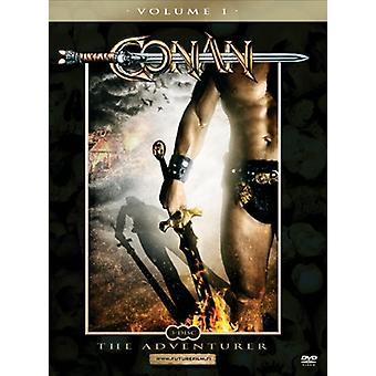 Conan The Adventurer: Vol 1 (3 disc set) (DVD) (used)