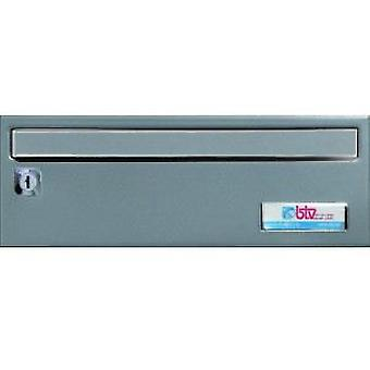 BTV Buzon Barajas Silver 345X250X120 G1 (DIY , Hardware , Home hardware , Mailboxes)