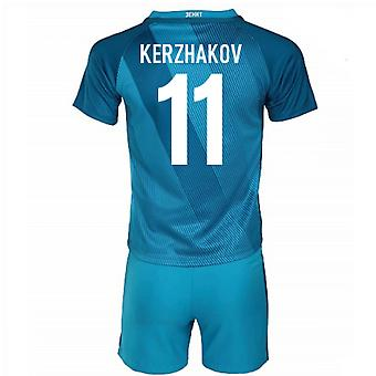 2016-17 Zenit St Petersburg casa Mini Kit (Kerzhakov 11)