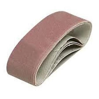 Silverline Sanding belts 40 x 305 mm, 5 pcs Grano 120