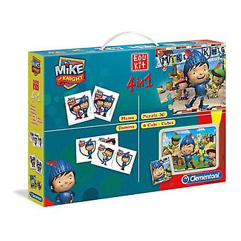 Clementoni Edukit Mike Knight (Toys , Boardgames , Traditionals , Puzzles , Skills)