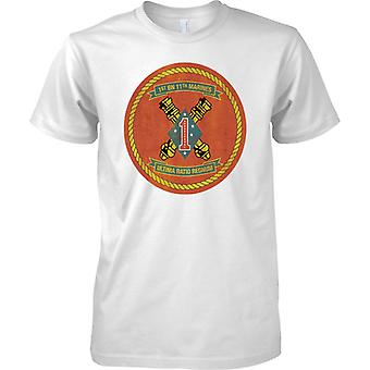 USMC 1st Bn 11th Marines - Mens T Shirt