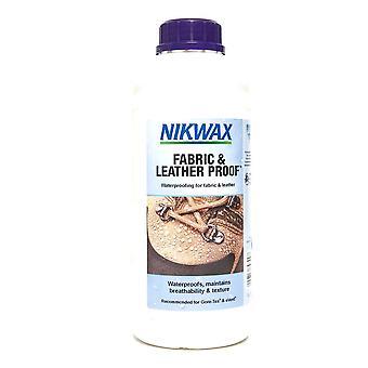 Nikwax stof & læder bevis Refill 1L