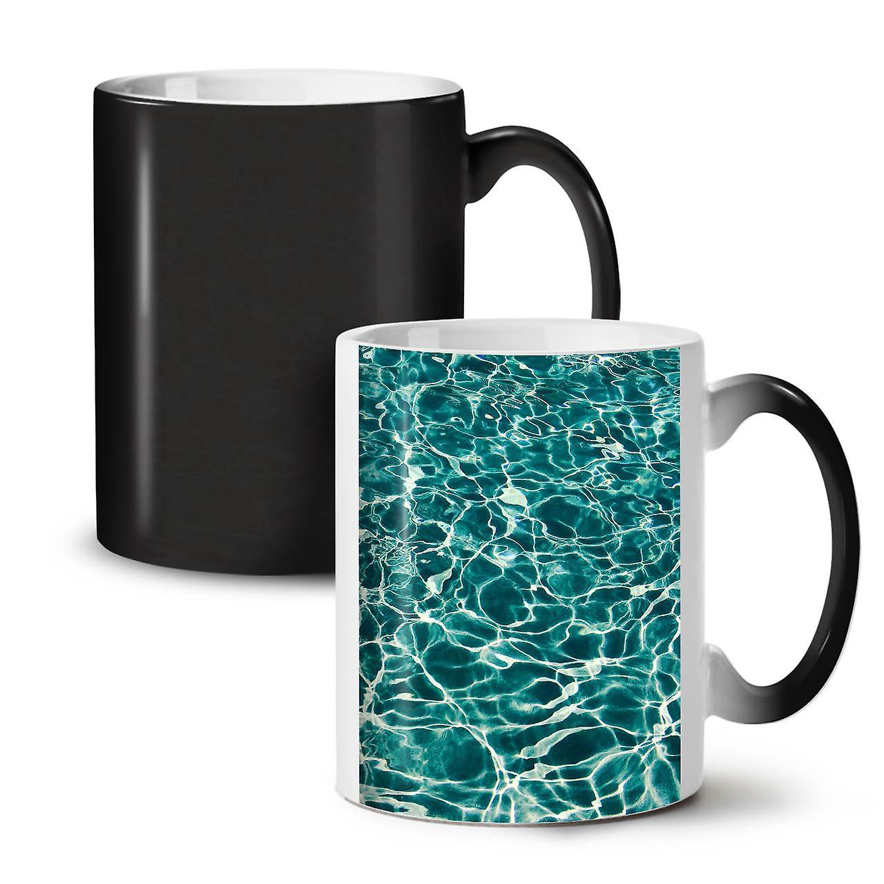 Art Café Changeant Océan Mer Noir Nouveau De Bleu Céramique Couleur Tasse 11 OzWellcoda Thé qzSMUVp