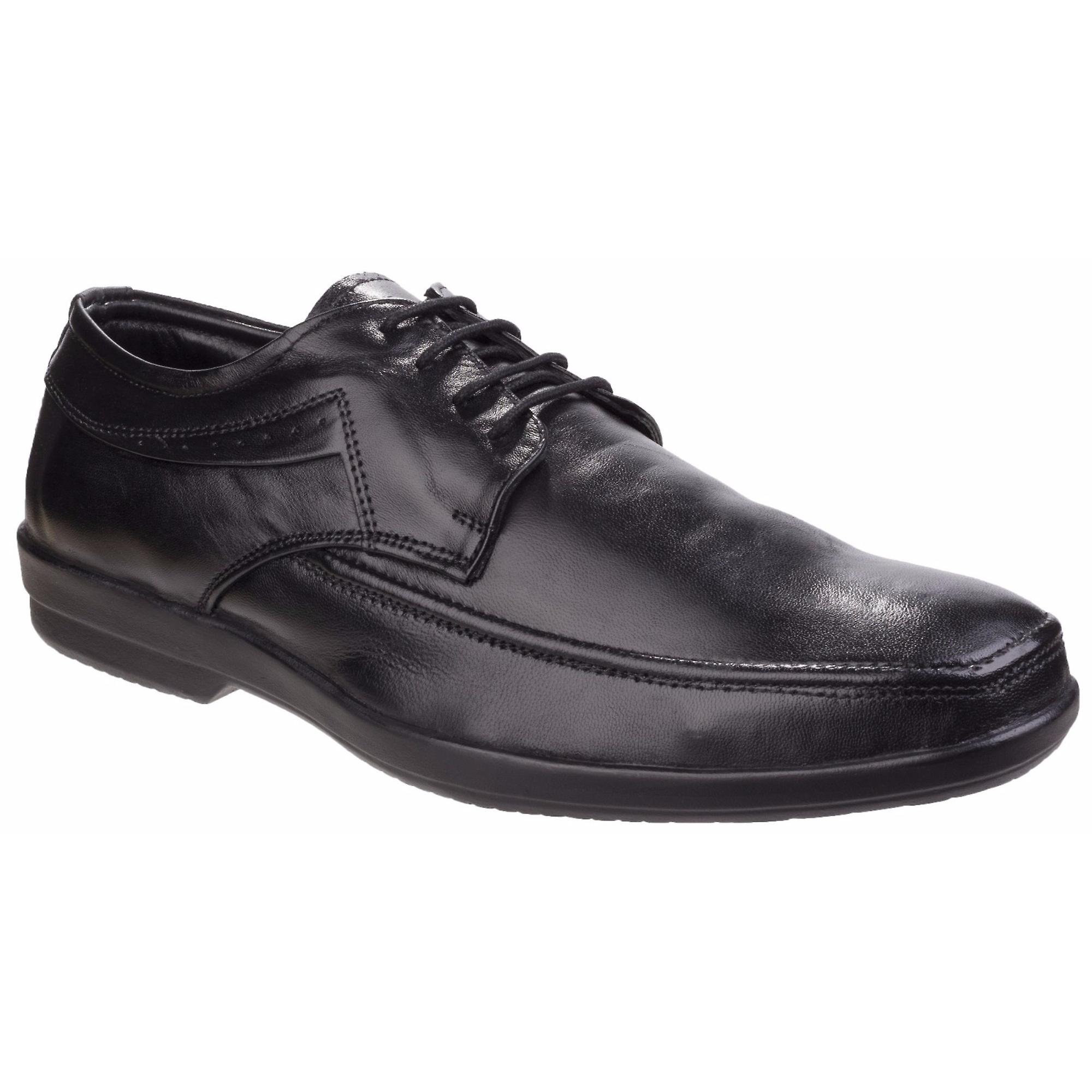 Fleet & Foster Mens Dave Apron Toe Oxford Formal chaussures