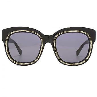 Stella McCartney Falabella Square Sunglasses In Black